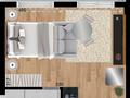 Planta 08 - 30m² - studio