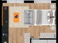 Planta 05 - 27 8m² - studio