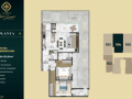 Planta 12 - 2 dorm 123 51m²