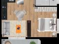 Planta 11 - 32 7m² - studio