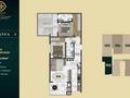 Planta 09 - 2 dorm 84 5m²