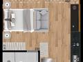 Planta 02 - 26 10m² - studio
