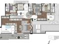 Planta 08 - 352m² - duplex cobertura - superior