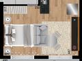 Planta 10 - 30 3m² - studio