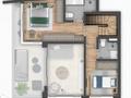 Planta 05 - 2 dorm 104 48m² - duplex superior