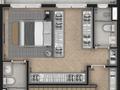 Planta 11 - 1 dorm 91m² - duplex superior