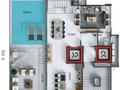 Planta 04 - 3 dorm 247 90m² - cobertura duplex superior