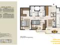 Planta 12 - 3 dorm 125 34m² - cobertura inferior
