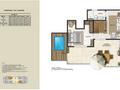 Planta 20 - 4 dorm 126 21m² - cobertura superior