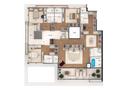 Planta 08 - 4 dorm 324 03m² - cobertura duplex - superior