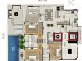 Planta 02 - 3 dorm 172 99m² - garden