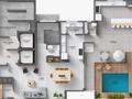 Planta 07 - 5 dorm 337 44m² - duplex superior