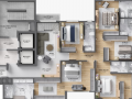 Planta 06 - 5 dorm 337 44m² - duplex inferior