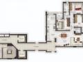 Planta 03 - 3 dorm 123 40m²
