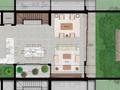 Planta 01 - 3 dorm 496 16m² - terreo