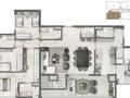 Planta 09 - 4 dorms 267m² - duplex inferior