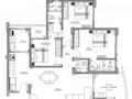 Planta 02 - 3 dorm 123 28m²