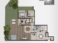 Planta 15 - 2 dorm - 301 75m² - garden