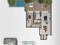 Planta 07 - 211 44² - 2 dorm - garden