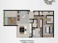 Planta 03 - 2 dorm - 128 90m²