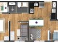 Planta 05 - 3 dorm 47 m²
