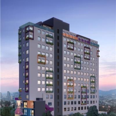 NUrban Pinheiros | Apartamentos de 1 e 2 dorms | 24 a 50 metros | Na Rua Alves Guimarães - Pinheiros