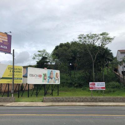 Terreno Comercial Centro Jaraguá do Sul