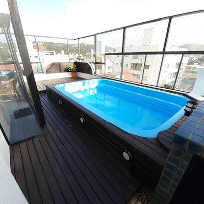 Cobertura duplex 3 dormitórios com piscina privativa