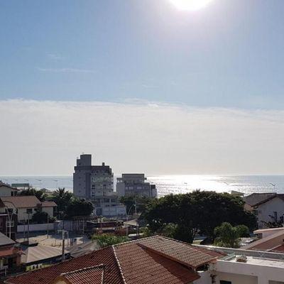 Na Praia Brava com linda vista mar