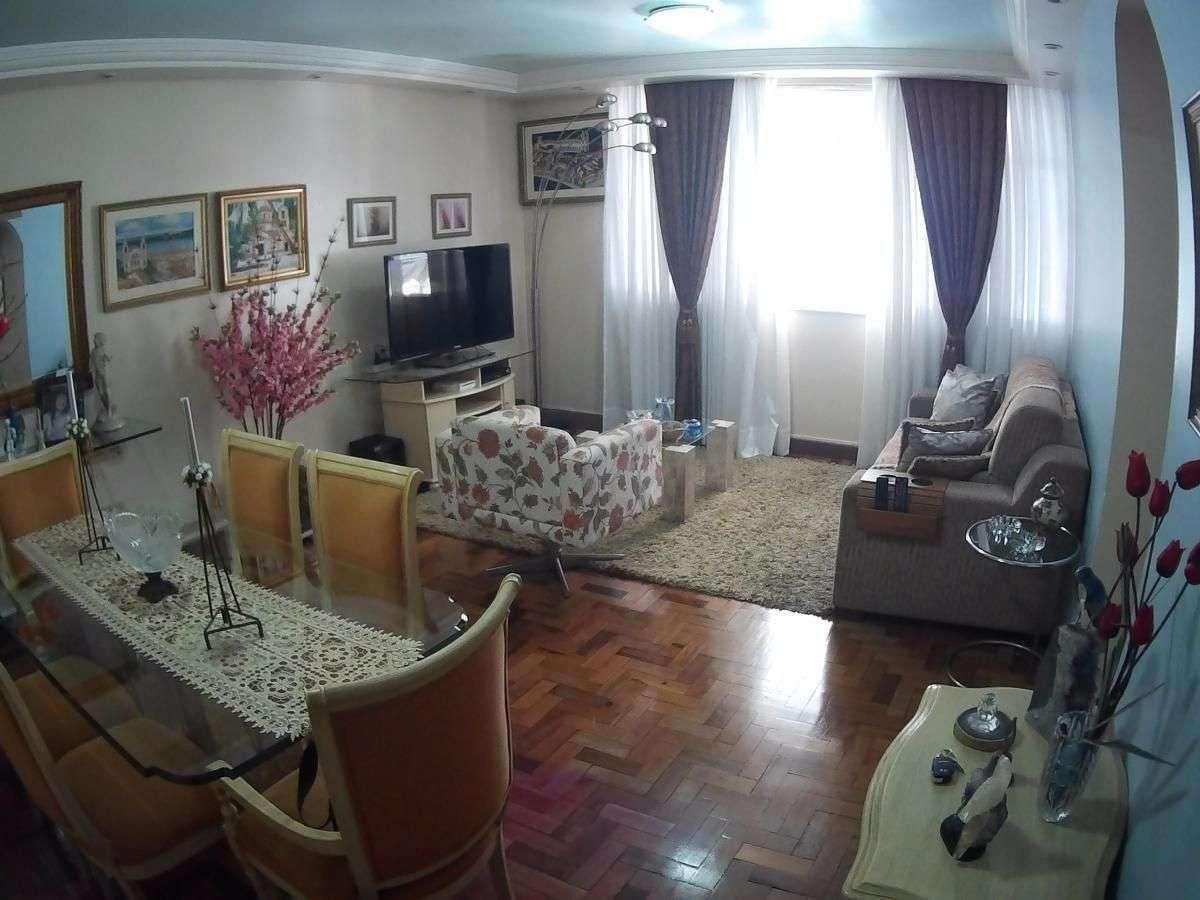 Pereira da Silva - Andar Alto - 135m² - Apartamento de 3 Quartos Sendo 1 Suíte e 1 Vaga em Icaraí  - Dependências Completas