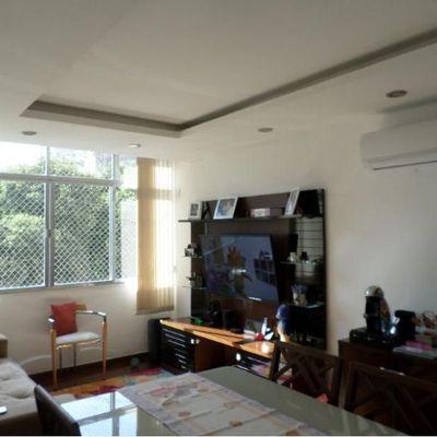 Imóveis em Niterói - Apartamento de 2 Quartos com Dependências e 1 Vaga na Rua Miguel Couto no Jardim Icaraí