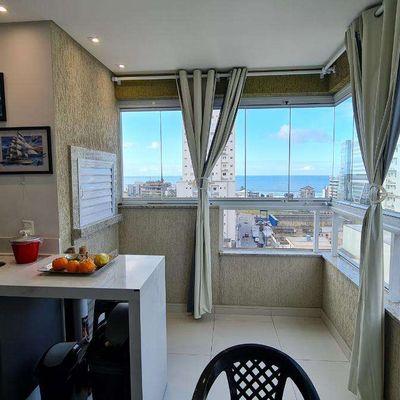 Apartamento com Vista Mar Ed. Gallatas Residence - Morretes - Itapema