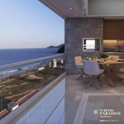 Residence - Surfers Paradise - Praia Brava - vista mar