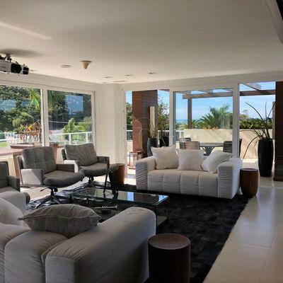 Casa Luxuosa Condomínio  Green Ocean Vista Mar Estaleiro Balneário Camboriú