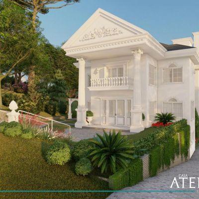 Luxuosa Casa no Condomínio Aspen Montain em Gramado Rio Grande do Sul