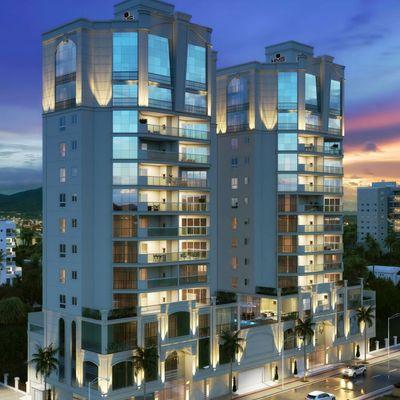 Apartamento de alto padrão com 03 suítes para a venda em Meia Praia.