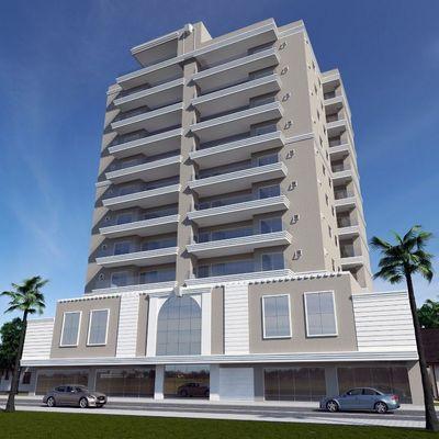 Apartamento planta com 03 suítes para a venda no Perequê.