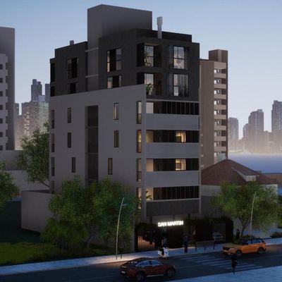 San Martin - Apartamento com 02 suítes para a venda no Perequê.