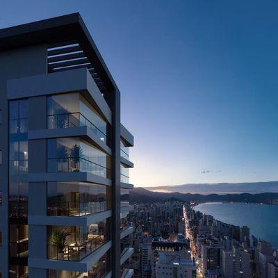 Apartamento na planta com 03 e 04 Suites Em Meia Praia Itapema