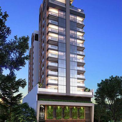 Apartamento na planta com 03 Suites Em Meia Praia Itapema