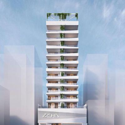 Apartamento na planta para a venda na quadra do mar de 03 e 04 suítes no Residencial Zaha.