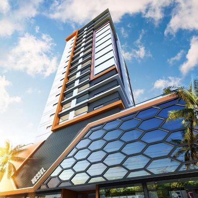Vessel - Apartamento na planta com 02 e 03 suítes para a venda em Meia Praia.