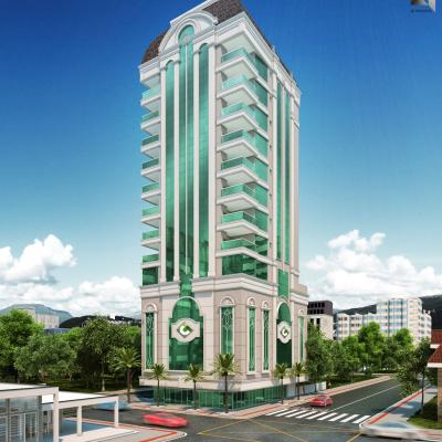 Vernon Classic - Apartamento em construção com 03 Suítes Em Meia Praia SC