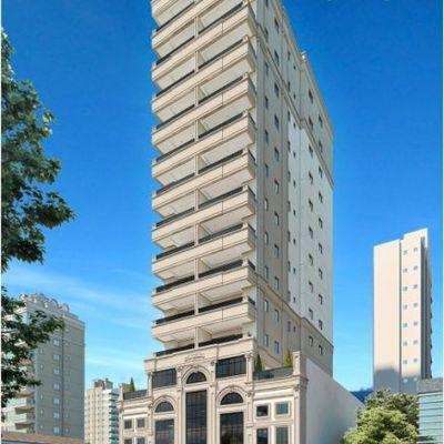 Apartamento na planta com 03 Suites Centro de Itapema