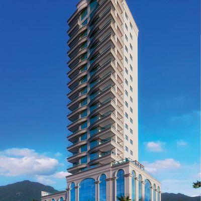 Apartamento na planta com 03 dormitórios em Meia Praia.