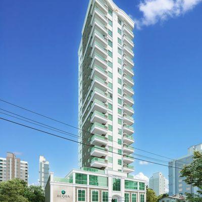 Apartamento na planta para a venda com 02 Suítes Em Meia Praia.