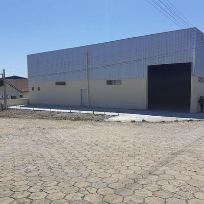 Galpão para locação, 588 m² -  R$ 7.000,00 - São Cristovão - Barra Velha/SC