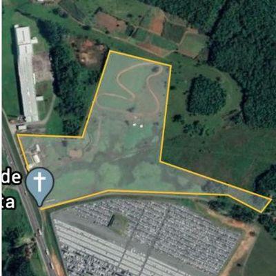 Área à venda, 137,787 m² por R$ 21.000.000,00 - Araquari/SC