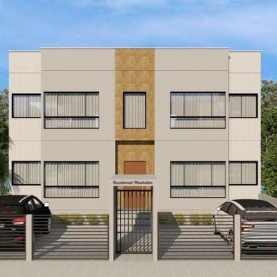 Apartamento 80 metros da praia do tabuleiro com suite - Barra Velha -SC
