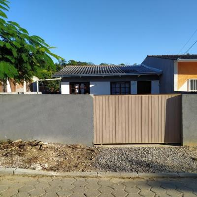 Casa com 2 dormitórios para alugar mensal, 60 m² - São Cristóvão - Barra Velha/SC